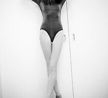 Legs and a leotard by Dave Hare