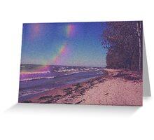 Funky Beach Greeting Card