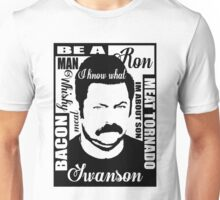 Ron Swanson parks and rec  Unisex T-Shirt