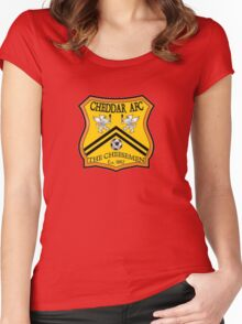 Cheddar AFC Badge Women's Fitted Scoop T-Shirt