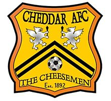 Cheddar AFC Badge Photographic Print