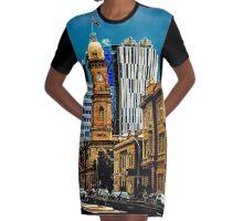 Adelaide SA 5000  Graphic T-Shirt Dress