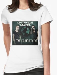 DIMITRI VEGAS & LIKE MIKE - THE MADNESS Womens Fitted T-Shirt