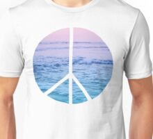 Waves and Peace Unisex T-Shirt