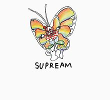 Supreme 'SUPREAM' Butterfly - White/Red/Blue/Grey/Beige Unisex T-Shirt