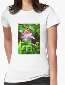 Just for a Minute  Womens Fitted T-Shirt