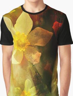 Daffie Dreams Abstract Graphic T-Shirt