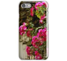 Picket Fence Roses iPhone Case/Skin