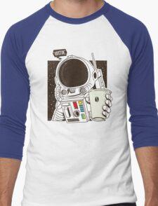 Houston... We have a Coffee!  Men's Baseball ¾ T-Shirt