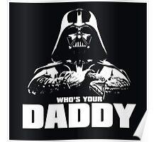 Funny Darth Vader Poster