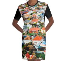 See Hear Adelaide Graphic T-Shirt Dress