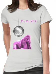funky gorilla Womens Fitted T-Shirt