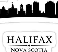 Halifax Nova Scotia Cityscape Sticker