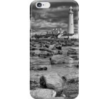 St Mary's Lighthouse iPhone Case/Skin