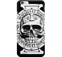 Warhammer 40k Chaos Marines Skull no. 2 iPhone Case/Skin