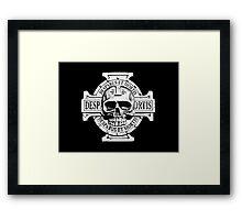 Warhammer 40k Chaos Marines Skull no. 2 Framed Print