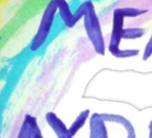 """""""r u gay?"""" Sticker"""