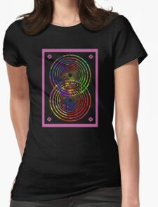 Speaker Beats! (Destructive interference)  Womens Fitted T-Shirt