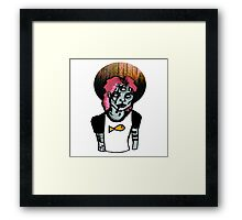 Poetic Genius Without the Brain Framed Print