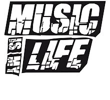 Cool Music is my life Design by Style-O-Mat