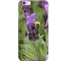 Lavender and Bee iPhone Case/Skin