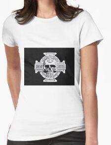 Warhammer 40k Chaos Marines Skull no. 3 Womens Fitted T-Shirt