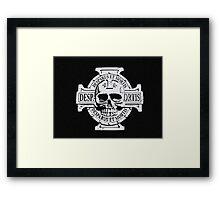 Warhammer 40k Chaos Marines Skull no. 3 Framed Print