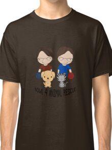 2016 Exclusive Bowl-4-Animal Rescue Design Classic T-Shirt