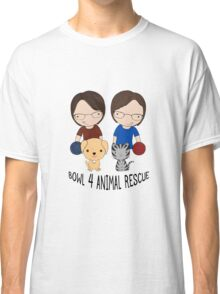 2016 Exclusive Bowl-4-Animal Rescue Design Classic T-Shirt