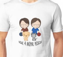 2016 Exclusive Bowl-4-Animal Rescue Design Unisex T-Shirt