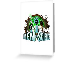 Men of Science Greeting Card