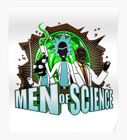 Men of Science Poster