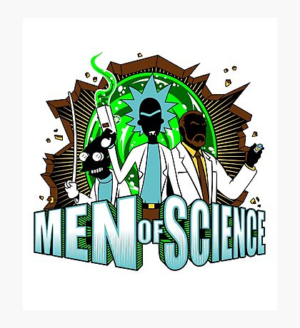 Men of Science Photographic Print