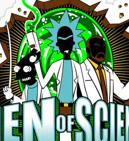 Men of Science Sticker