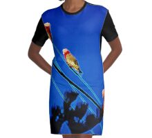 Galah watch Graphic T-Shirt Dress