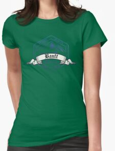 Banff Ski Resort Alberta Womens Fitted T-Shirt