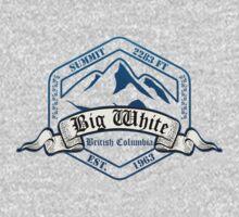 Big White Ski Resot British Columbia Kids Tee