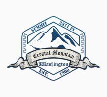 Crystal Mountain Ski Resort Washington by CarbonClothing