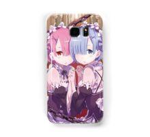 Re:Zero kara Hajimeru Isekai Seikatsu - Rem & Ram 2 Samsung Galaxy Case/Skin