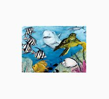 Sea Turtle Shark Tropical Fish Cathy Peek Unisex T-Shirt