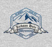 Jackson Hole Ski Resort Wyoming Kids Tee