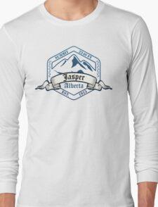Jasper Ski Resort Alberta Long Sleeve T-Shirt