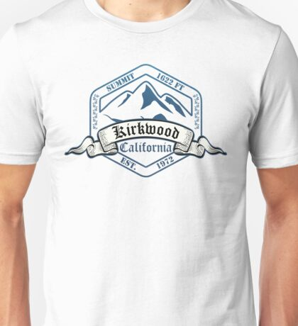 Kirkwood Ski Resort California Unisex T-Shirt