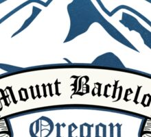 Mount Bachelor Ski Resort Oregon Sticker