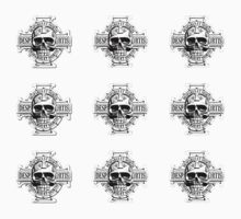 Warhammer 40k Chaos Marines Skull no. 4 One Piece - Short Sleeve