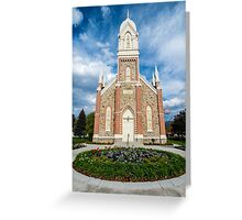Box Elder Stake Tabernacle - Brigham City Greeting Card