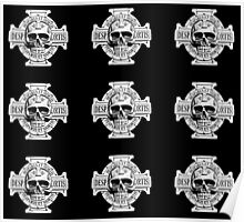 Warhammer 40k Chaos Marines Skull no. 4 Poster