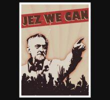 Jez We Can - Jeremy Corbyn One Piece - Short Sleeve