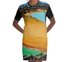 Onkaparinga Steps Graphic T-Shirt Dress