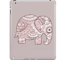 Pink Mandala Elephant iPad Case/Skin
